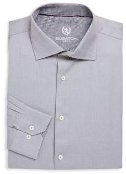 Bugatchi Long-Sleeve Cotton Dress Shirt