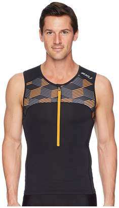 2XU Active Tri Singlet Men's Clothing