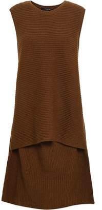 Derek Lam Layered Ribbed Cashmere Dress