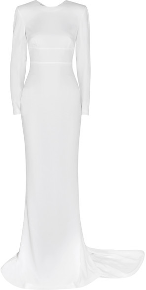 Stella McCartney - Renee Open-back Stretch-crepe Gown - White