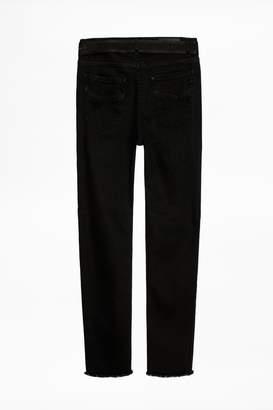 Zadig & Voltaire David Grunge Evan Ross Jeans