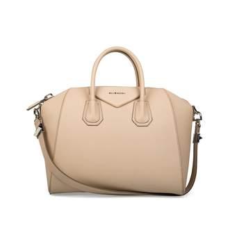 Givenchy Antigona Beige Leather Handbag
