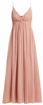 Loup Charmant Adelaide Cotton Midi Dress - Womens - Pink