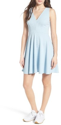 Women's Soprano Back Bow Skater Dress $45 thestylecure.com