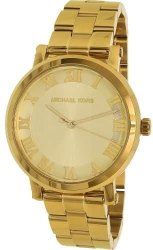 Michael Kors Women's Norie MK3560 Gold Stainless-Steel Quartz Fashion Watch
