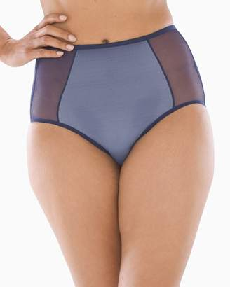55b616756143 Vanishing Tummy Layered Mesh Retro Brief