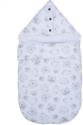 Kenzo Tiger logo print blanket