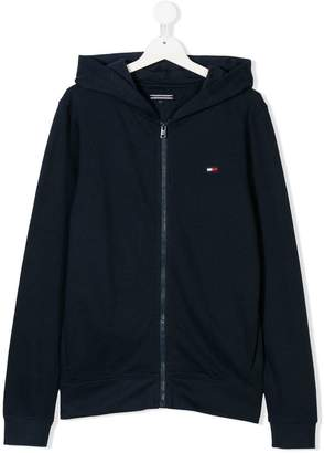 Tommy Hilfiger Junior TEEN long-sleeve zipped hoodie