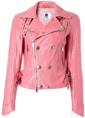 Couture Comino Real Leather Biker Jacket