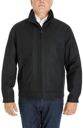 London Fog Heritage By Men's Heritage by Wool-Blend Twill Hipster Jacket