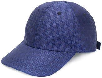 Versace Grecca print baseball cap