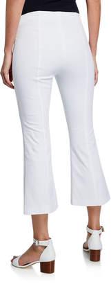 Donna Degnan Cropped Slit-Cuff Pants