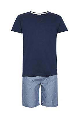Esprit Men's Anthony Nw Short Pyjama Set, (Grey Blue 420), X-Large