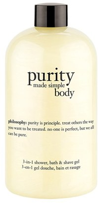 Philosophy 'Purity Made Simple Body' 3-In-1 Shower, Bath & Shave Gel $28 thestylecure.com