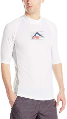 Kanu Surf Men's Optic Upf 50+ Rashguard