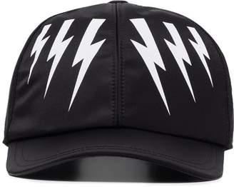 Neil Barrett lightning bolt cap