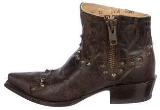 Stetson Shelby Pointed-Toe Booties