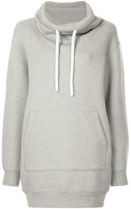 Alexander Wang dense fleece hoodie dress