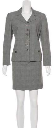 Akris Jacquard Skirt Suit