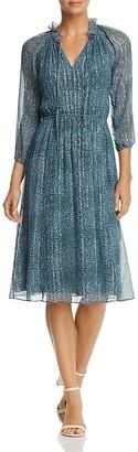 Rebecca Taylor Minnie Floral-Print Dress $495 thestylecure.com