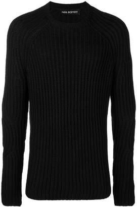 Neil Barrett ribbed knit jumper