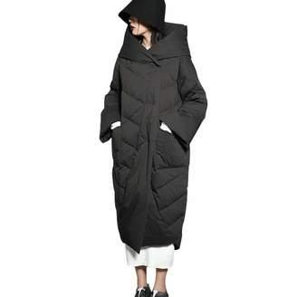 85d049d066f CNMUDONSI Women s Winter Coats Jackets with Hoods Long Plus Size M L XL XXL  (-L