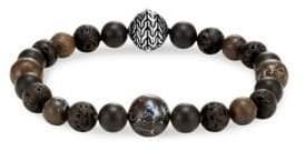 John Hardy Silver Classic Bead Bracelet