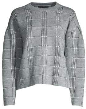 Maje Jacquard Sweater