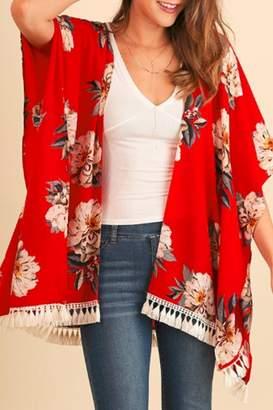 Umgee USA Red Hot Kimono
