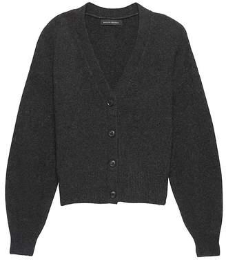 Banana Republic JAPAN ONLINE EXCLUSIVE Blouson-Sleeve Cardigan Sweater
