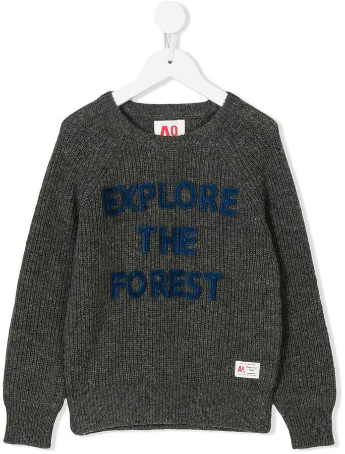 American Outfitters Kids crew neck knitted jumper
