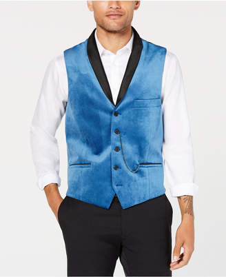 INC International Concepts I.n.c. Men's Party Velvet Slim-Fit Vest, Created for Macy's