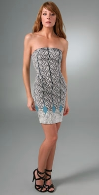 Mara Hoffman Print Tube Dress