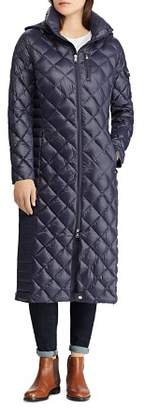 Ralph Lauren Diamond Quilted Down Coat