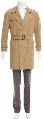 Calvin Klein Collection Double-Breasted Trench Coat