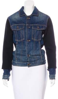 Longjourney Denim Casual Jacket