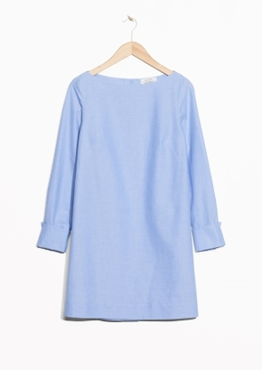 Other Stories Back Button Dress