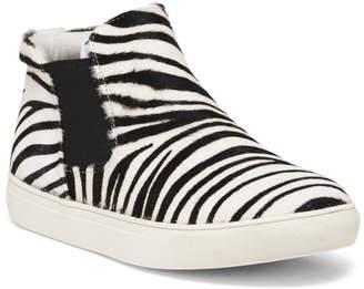 Slip On Haircalf Sneaker Booties