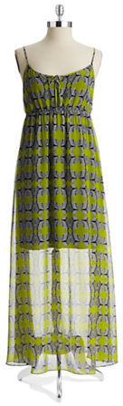 Vince Camuto TWO BY Tribal Print Maxi Dress