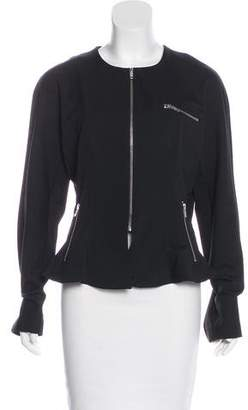 Ivan Grundahl Ruffled Zip-Up Jacket
