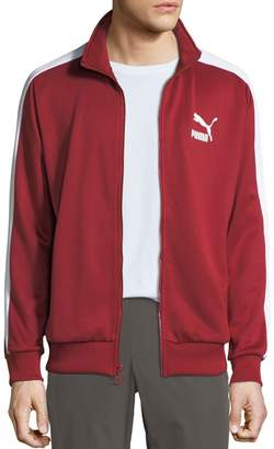 Puma Men's Archive T7 Track Jacket, Red