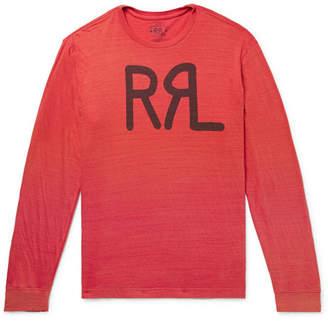 RRL Logo-Print Slub Cotton-Jersey T-Shirt