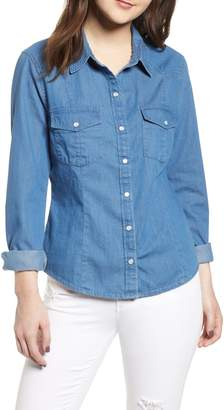 BP Fitted Chambray Shirt