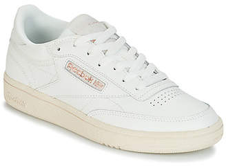 dc2addf6b847c9 Reebok White Leather Trainers Women - ShopStyle UK