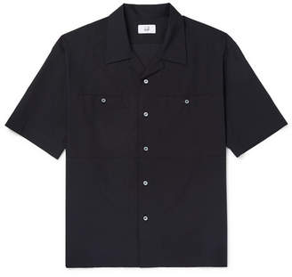 Dunhill Camp-Collar Cotton Shirt