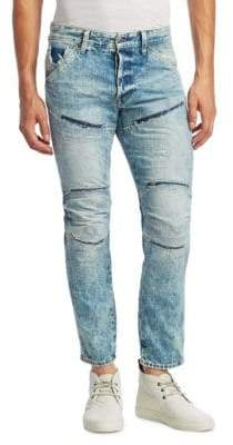 G Star 5620 3D Distressed Skinny Jeans