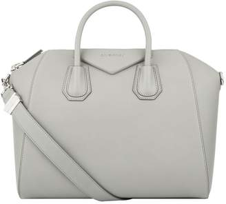 Givenchy Medium Grained Leather Antigona Tote Bag