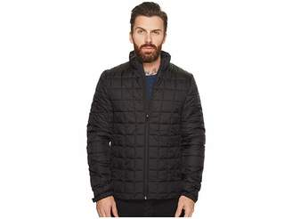 Scotch & Soda Classic Padded Jacket in Nylon Quality with Square Quilting Men's Coat