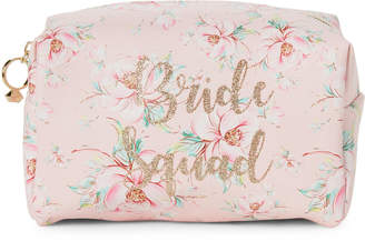 Jade & Deer Pink Bride Squad Cosmetic Pouch