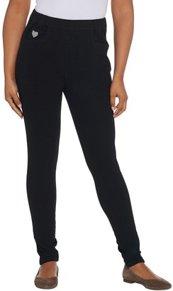 Factory Quacker DreamJeannes Short Pull-On Leggings with Pockets